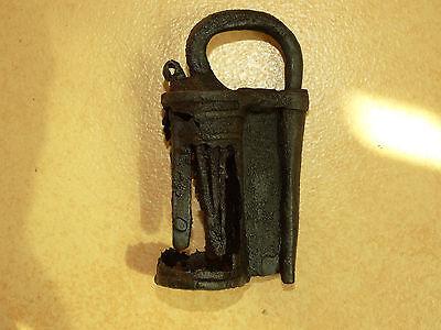 Superb Viking Iron  padlock. c 800-1000 AD 12