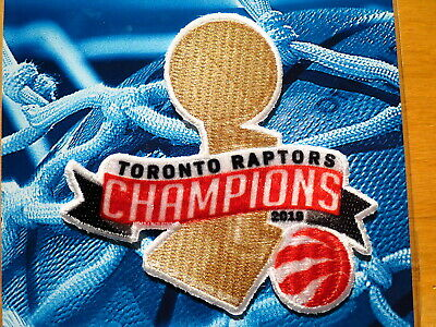 Licensed Toronto Raptors 2019 NBA Trophy Championship Iron or Sew On Patch 2