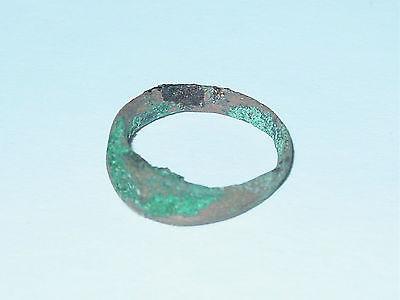 Perfect  Alanians,Khazarians Finger Ring #2. Saltovo-Mayaki culture  c 7-9 AD. 10