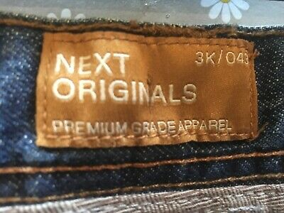 Next Boys Age 12 Blue Jeans Height 152cm in Great Condition 100% Cotton 7