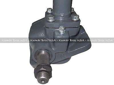New Kubota Tractor Steering Box Assembly L175 L185 L245 L225 With Pitman Arm 9