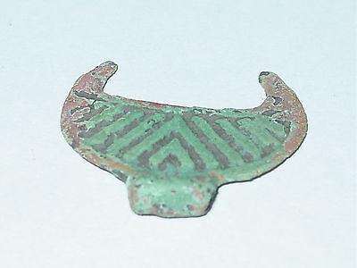 Perfect condition Viking  Moonlike pendant. ca 10-11 AD. 3