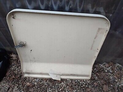 motorhome campervan A class Fiat Ducato 1993 dethleffs side locker door 2