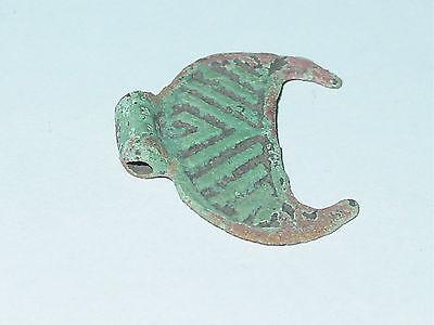 Perfect condition Viking  Moonlike pendant. ca 10-11 AD. 4