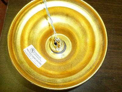 "vintage chandelier brass and crystal tassels 20"" x 20"" 6"