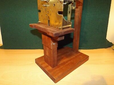 Buy 2 save £15 Clock movement test stand for lg  Fusse/wall/ Westminster/ French 10