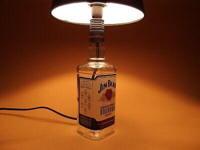 Jim Beam - Flaschen Lampe Tischlampe LED 220V mit Schalter SEHR ORIGINELL S1 4