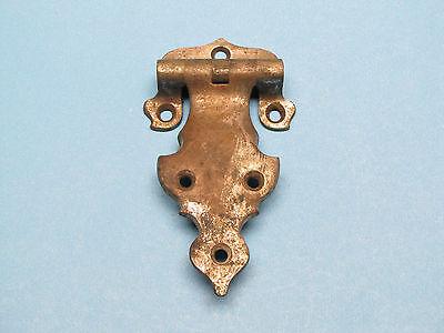 """Antique Cast Aluminum Ice Box Cooler Refrigerator Chest Door Hinge 4.75"""" x 2.75"""" 5"""