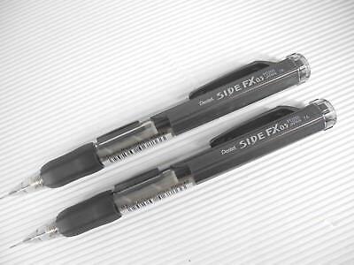 AO & CO  Pentel SIDE FX PD255 0.5mm Automatic pencil BlueBlack & Black(Japan) 10