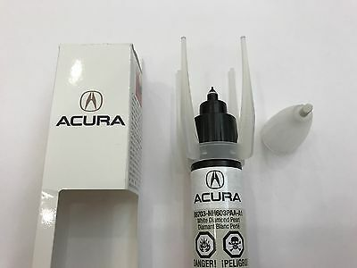 GENUINE OEM HONDA Acura Touch Up Paint NHP White Diamond Pearl - Acura touch up paint