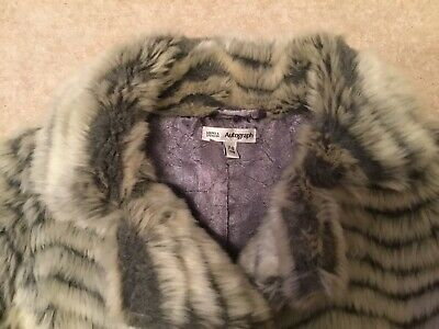 Autograph Girls Furry Coat (Age 7-8yrs) 4