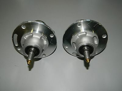 2 X HUSQVARNA Ride on Lawnmower Spindles Assembly Fabricated Deck 539 11  21-70