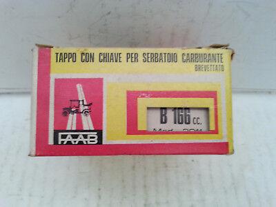 Tappo serbatoio cromato Triumph vari modelli Faab B 166
