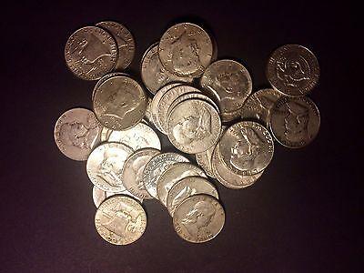INVEST 1//2 LB  POUND 90/% JUNK SILVER COINS *ALL QUARTERS* 8 OUNCES OZ   1