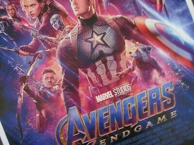 """Avengers -  Endgame ( 11"""" x 17"""" ) Movie Collector's Poster Print ( T2 )- B2G1F 4"""