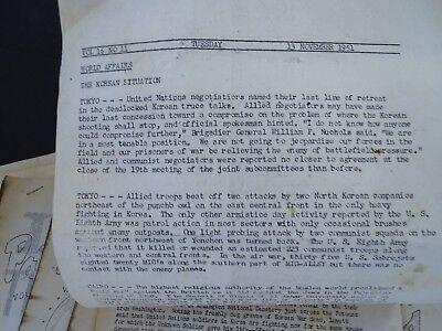 RARE 12 Magazine Newspaper Archive  Pat's Patter Korean War USAT MM Patrick 1951 3
