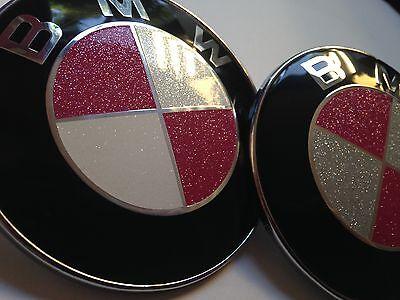 BMW Glitter Emblem Overlay Sparkle Crystal 640i 645i 645ci 650i M6 E63 E64 M3