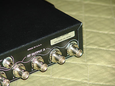 Shure UA845-SWB Active Antenna Splitter, 470-952 MHz - Just for BUY IT NOW 9
