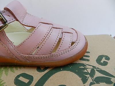 MOD8 Ekoko Sandales Chaussures Fille 20 Ballerines Rose Babies UK4 Child Neuf 3