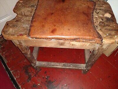 Beautiful Antique  English  Cobblers Bench 7