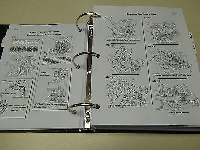 Case 850B Crawler Dozer Bulldozer Service Manual Repair Shop Book NEW w/Binder 4