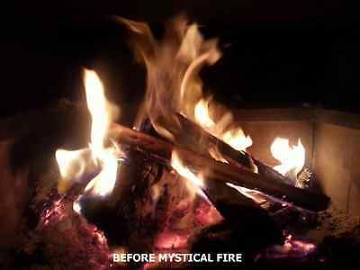 MYSTICAL FIRE 12 pkts Magical Fire Colourful Color changing Flames Campfire 5