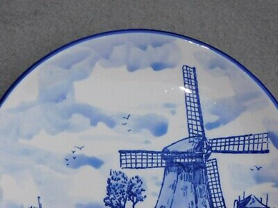Assiette En Faience Eleska Holland A Decor De Moulin Diam 20 Cm 11M14 3