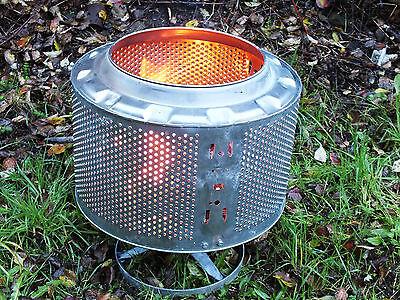 Waschmaschinentrommel als Eventbeleuchtung, Feuerstelle, Outdoorheizung, Grill 4