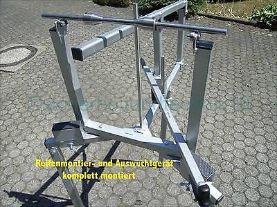STECKACHSE 14 - 50 mm Achsdurchmesser für Auswuchtgerät + Reifenmontiergerät