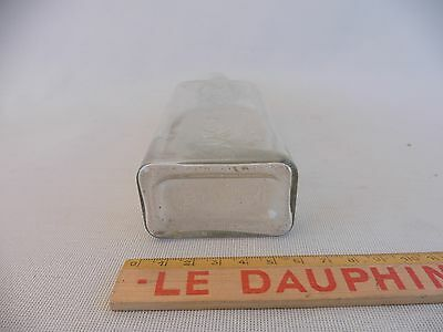 Heißen Sirup Flaschen- Antik Aus Glas/apotheke Apotheker/vintage