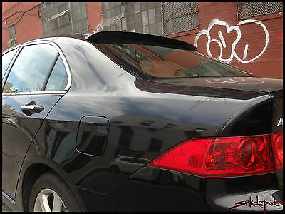 Fits: Mazda Protege 1999-03 4dr SPKdepot 380R Rear Roof Window Spoiler Wing