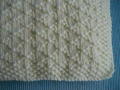 Baby Blanket Easy Knitting Pattern Super Chunky Criss Cross 1 99