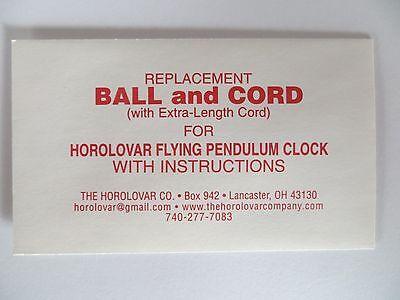 Horolovar Ball & Cord for the Horolovar Flying Pendulum Clock - Ignatz 3
