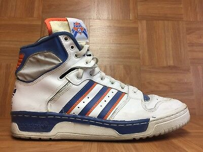 cheap for discount 36fc3 c145d VINTAGE🔥 ADIDAS NBA Patrick Ewing New York Knicks Made In France Shoes Sz  10 LE