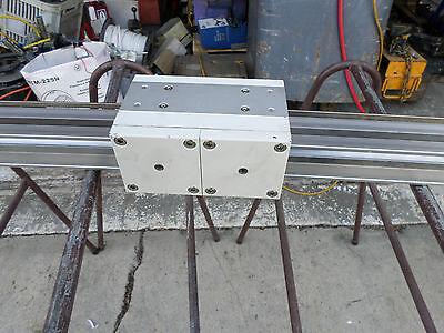 SMC RODLESS CYLINDER -1000 x 40 w/BRAKE + POSITIONING SCALE - ML2B40-1000