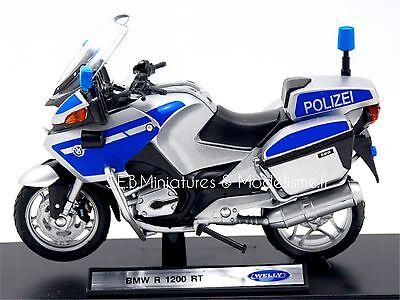Moto Bmw R 1200 Rt Polizei 1 18 Welly