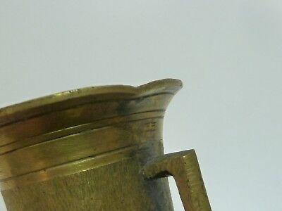 SAMMLUNG KLEINE MÖRSER, 18./19. Jahrhundert, Messing, 10 Stück mit Pistillen 7