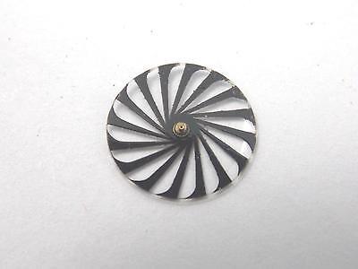 Ladies 11.38mm Borel Cocktail Vintage Watch Dial Seconds Disk Kaleidoscope 2