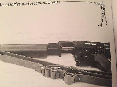 WWII M1923 Sling Military AOC Thompson 1921 Garand M1 Springfield 1903 Enfield 2