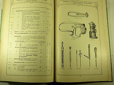 Buch Katalog Sächsische Verbandstoff Fabrik Dresden Radebeul Ploehn Von 1902 11