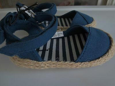 0d1997e1c ... GARANIMALS Blue Espadrilles Shoes Sandal 2 2 of 5 NEW Girl Infant  *3-6**6-9**9-