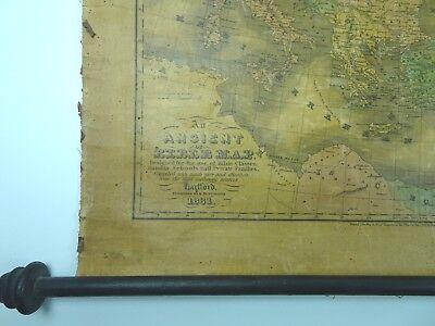 An Ancient Or Bible Map E Huntington Hartford Connecticut  MEDITERRANEAN 1831 2