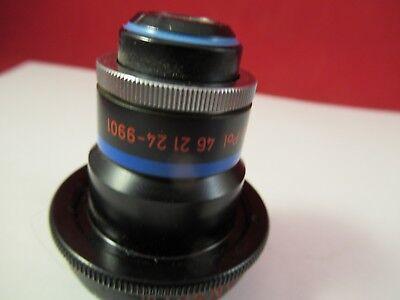 Zeiss Pol Inko Objectif 40x/160 462124 Microscope Pièce As sur Photo #Ft-4-124 3