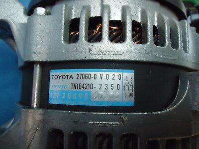 Toyota Highlander New Altenator 27060-0V020, Denso Tn104210-2350 12V 2009