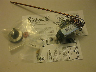 ROBERTSHAW 5300-114 ELECTRIC THERMOSTAT S-12-36 200-450F HOBART G.E FRYERS