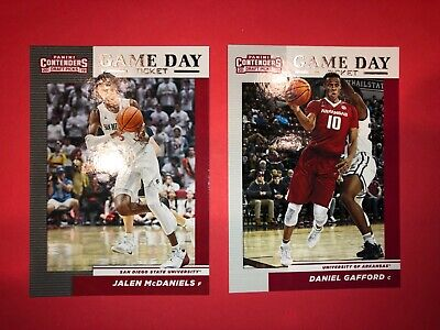 2019 Panini Contenders Draft Picks Basketball Cards Game Day Ticket You Choose 8