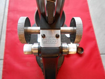 Mikroskop Ernst Leitz Wetzlar Nr.382604 7