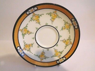 Early 20Th Century Mintons Yellow Roses Cup Saucer And Plate Trio 6