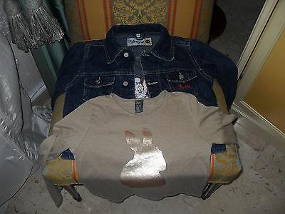 Giubbino jeans Disney e T.Shirt ZARA bimba anni 5/6. 2