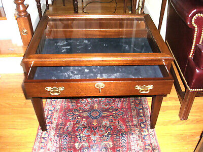 Mahogany Hepplewhite Style Display Table 2